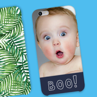 Boo baby on a personalised phone case