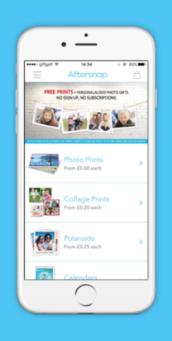 Personalised gift app